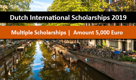 Holland Scholarship 2019 for International Students