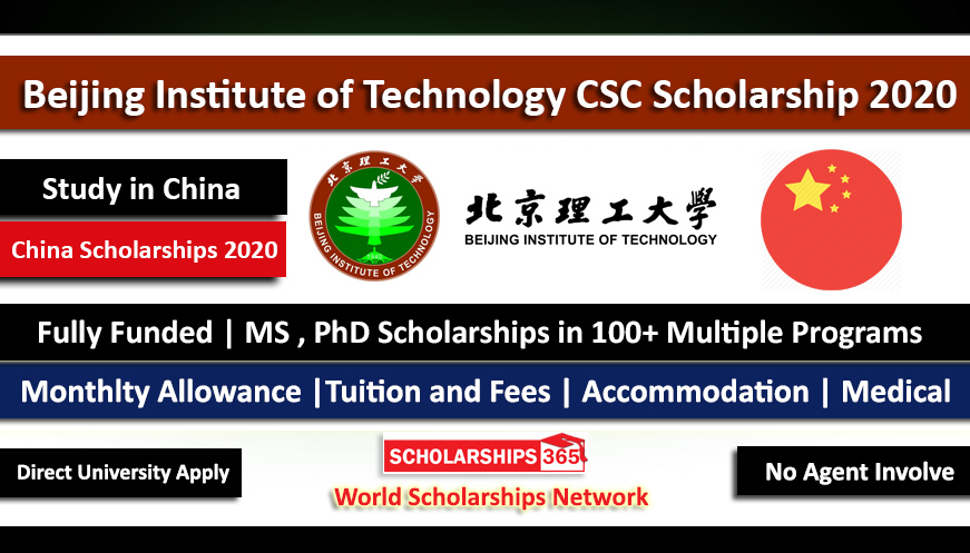 Beijing Institute of Technology CSC Scholarship 2020 - Fully Funded