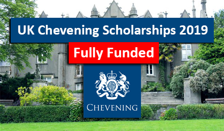 UK Chevening Scholarships 2019 for International for MS