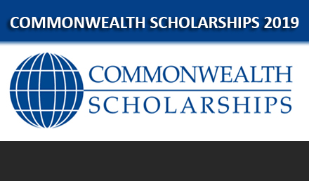 Commonwealth Master Scholarship 2019