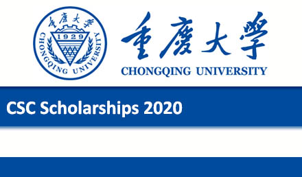 Chongqing University CSC Scholarship 2020 in China
