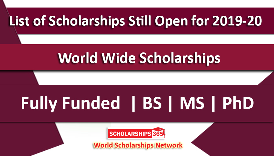 Fully Funded Scholarships 2019-20 Still Open - CSC Scholarships