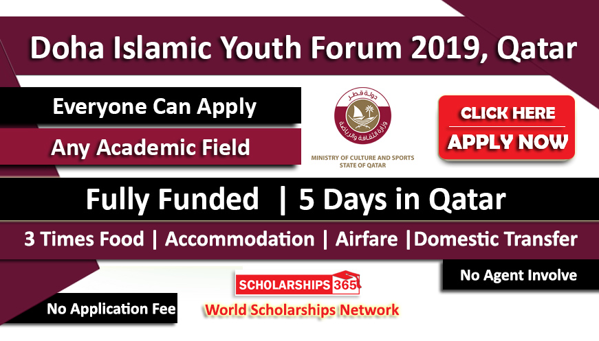 Doha Islamic Youth Forum 2019 Fully Funded in Qatar