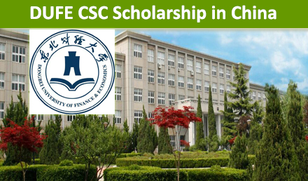 DUFE CSC Scholarships in China 2019 Fully Funded
