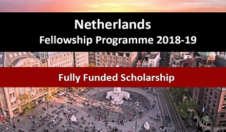 Netherlands Fellowship Programme Fully Funded  2018-2019 - Fellowship