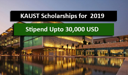 KAUST Saudi Arabia Scholarships 2019-2020 Fully Funded  - Undergraduate Scholarships 2020-2021