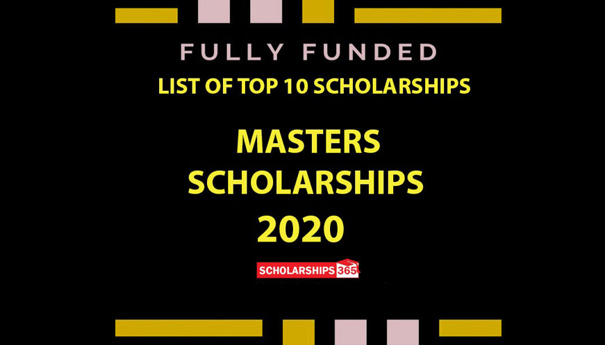 Masters Scholarship 2020 - Fully Funded for International Students