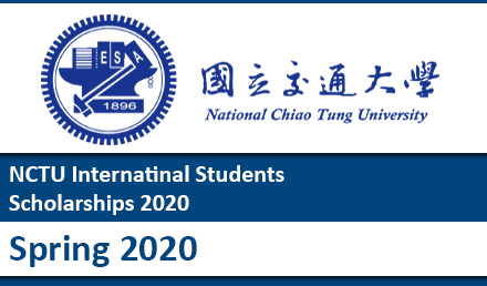 National Chiao Tung University Scholarships 2020- Spring