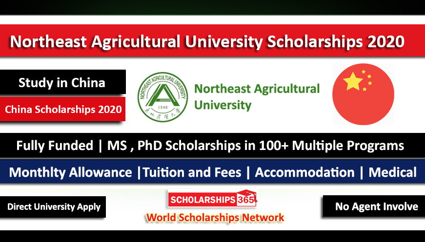 Northeast Agricultural University CSC Scholarship 2021 for International Students