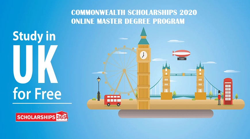 Commonwealth Distance Learning Scholarship 2020 - Fully Funded