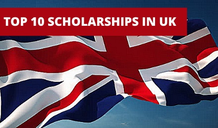 Top 10 Scholarship in the UK for International Students - Undergraduate Scholarships 2020-2021