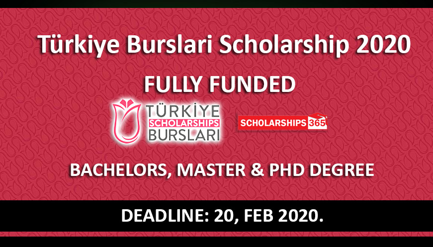 Turkiye Burslari Scholarship 2020 Fully Funded - Turkish Government Scholarship
