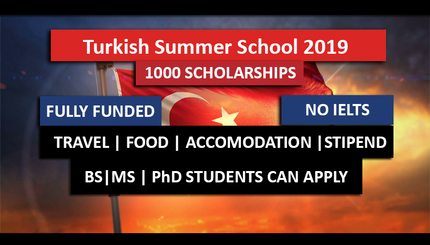 The Turkish Summer Exchange Programme 2019 Fully Funded 2019 in Turkey