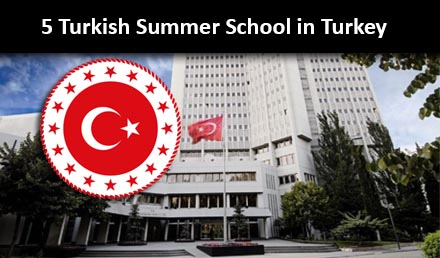 Turkish Summer School Program 2020 Fully Funded in Turkey - Undergraduate Scholarships 2020-2021