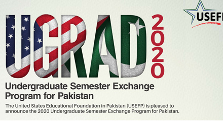 Global UGRAD 2020 Pakistan Exchange Program to USA