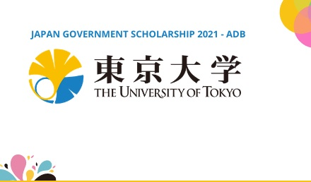 Japan Scholarship 2021 - University of Tokyo - Fully Funded