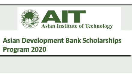 Asian Development Bank Scholarship 2020 Fully Funded