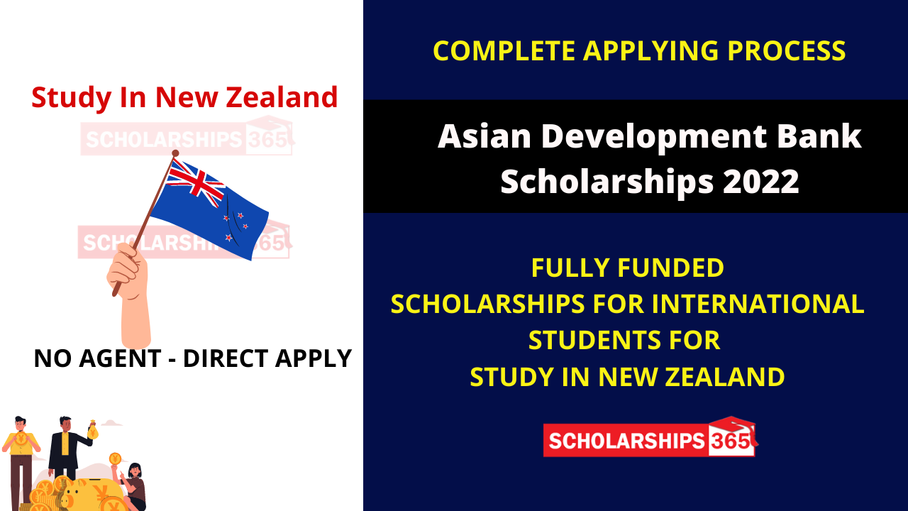 Asian Development Bank Scholarships 2022 Fully Funded - University of Auckland