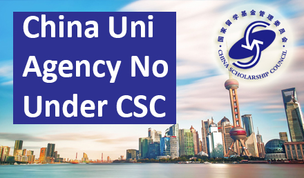 China universities with Agency Number 2020 - Undergraduate Scholarships 2020-2021