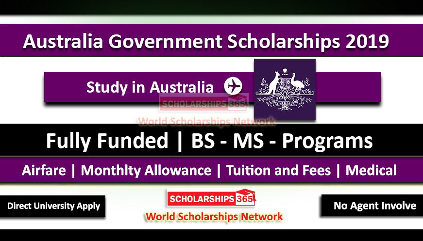 Australia Awards Scholarships 2019 Fully Funded - Department of Foreign Affairs and Trade.