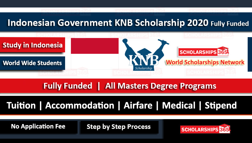 KNB Scholarship 2020 - Indonesian Government Scholarship - Fully Funded