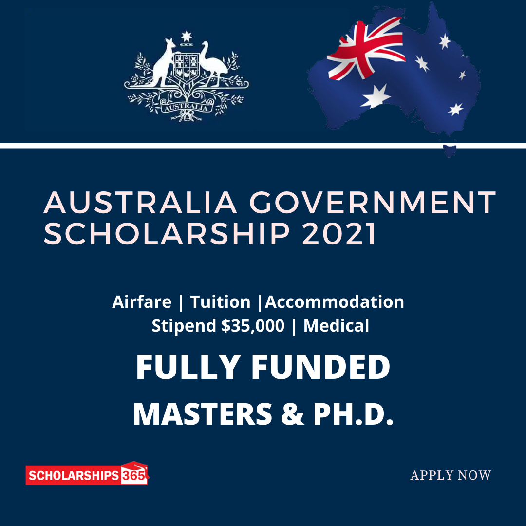 Australian Government Scholarships 2021 - University of Sydney
