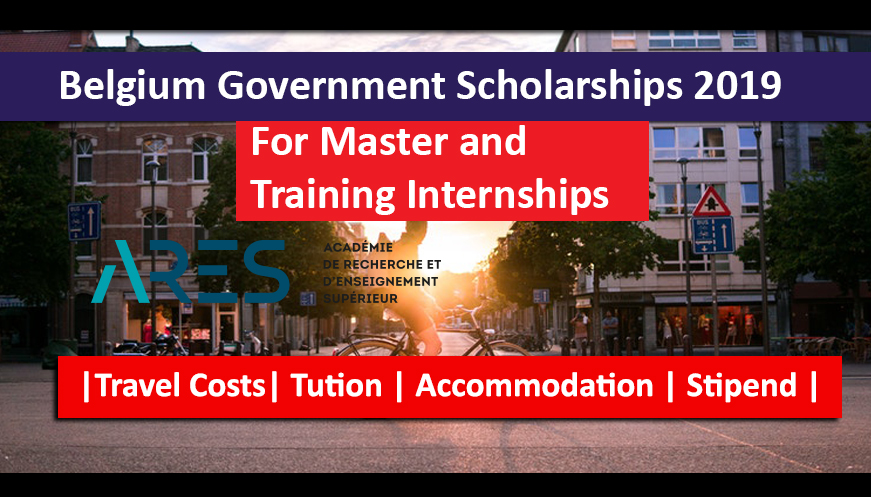 Belgium Government Scholarships 2019 fully funded