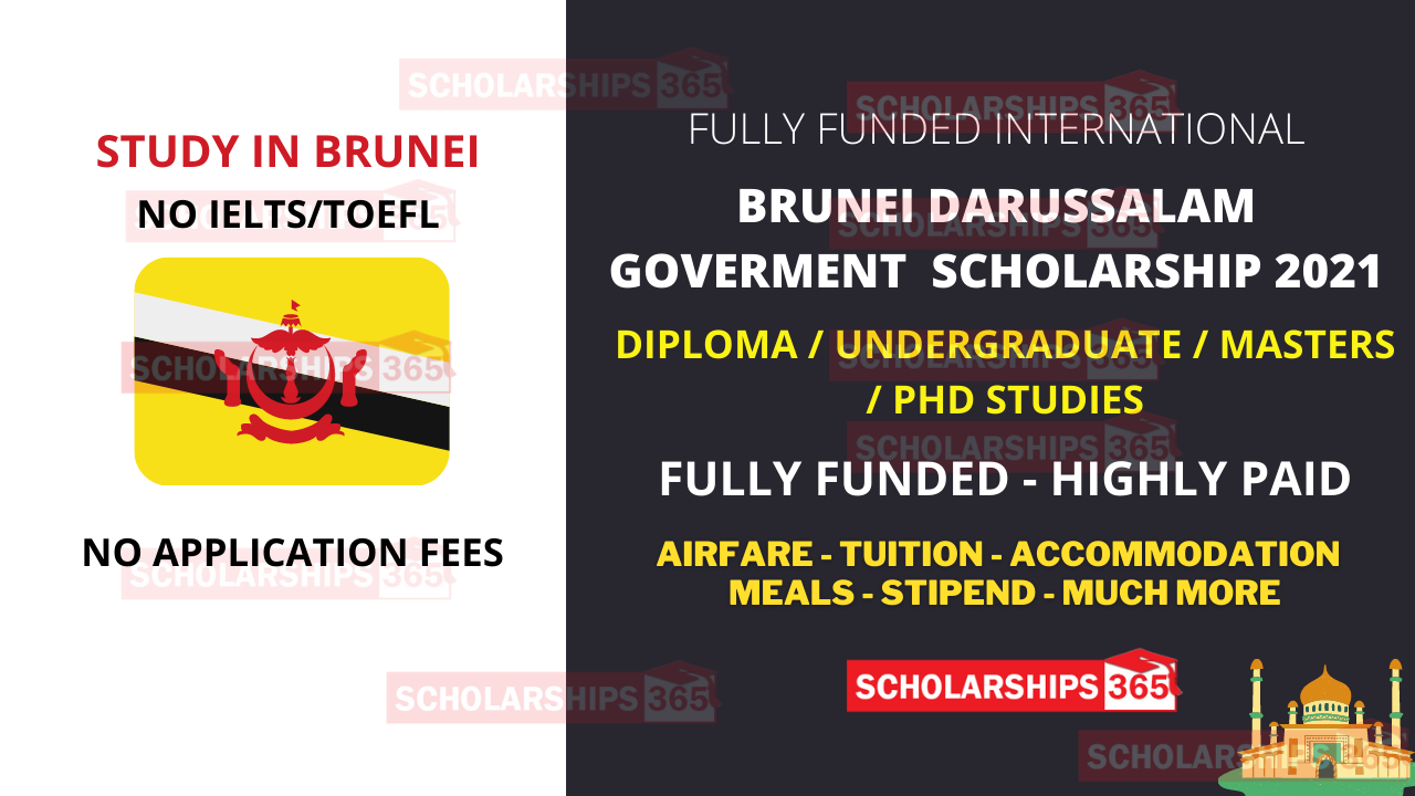 Brunei Darussalam Government Scholarship 2021 - Fully Funded