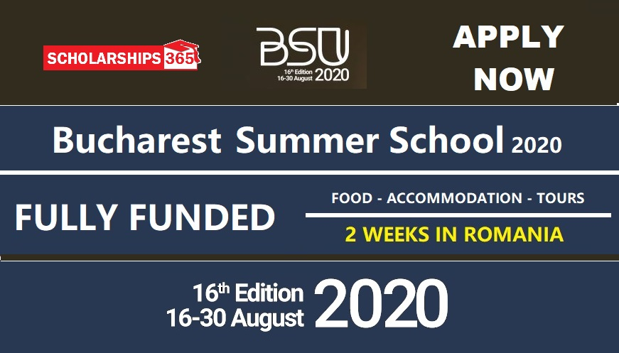 Bucharest Summer School 2020 in Romania  - Fully Funded for International Students