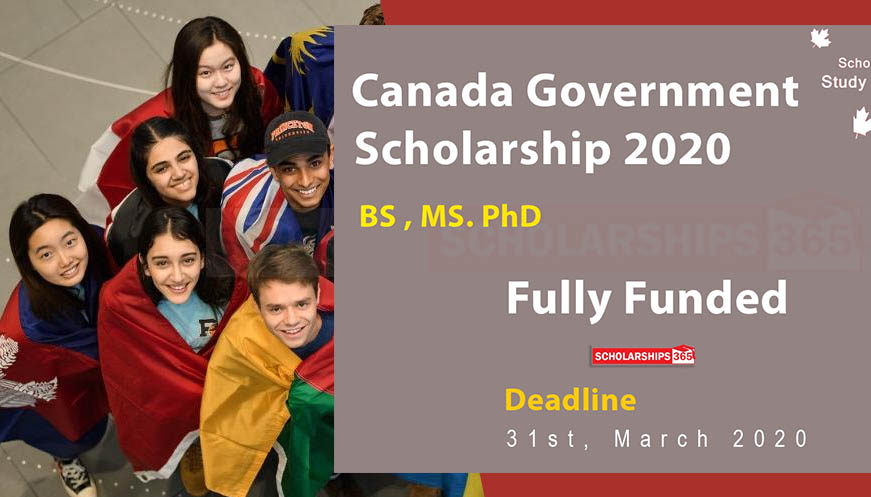 Canada Scholarship for International Students 2020-2021 - Global Affairs Canada