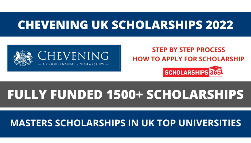 Chevening Scholarship 2022/23 in UK - Fully Funded | Study in UK
