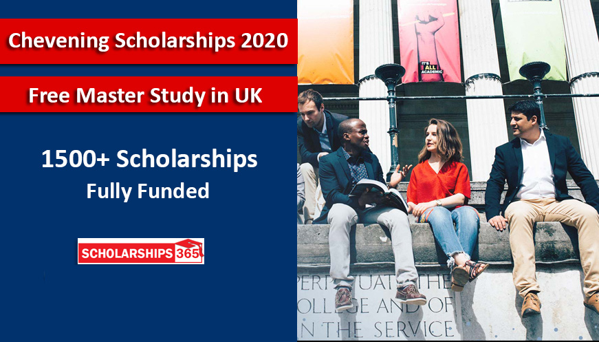 Chevening Scholarship 2020 for International Student in UK - Fully Funded