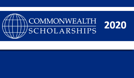 Commonwealth Scholarship in UK 2020 For Masters and PhD