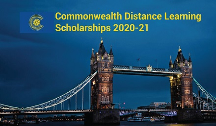 Commonwealth Distance Learning Scholarship 2020 Fully Funded