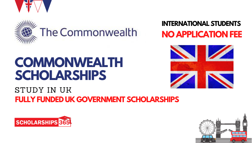Commonwealth Scholarship 2022 in UK | Fully Funded | Study in UK