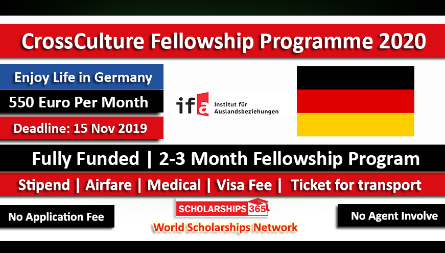 CrossCulture Program 2020 Germany Fully Funded - CCP 2020 Fellowship Program