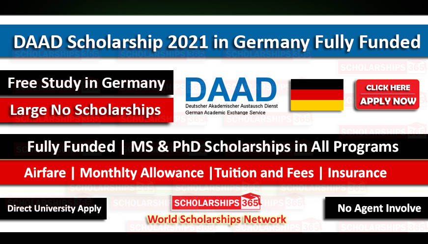 DAAD Scholarship 2020-2021 in Germany Fully Funded - Study ...