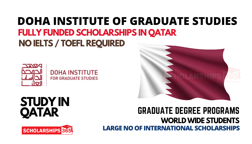 Doha Institute for Graduate Studies Scholarships 2022   Fully Funded