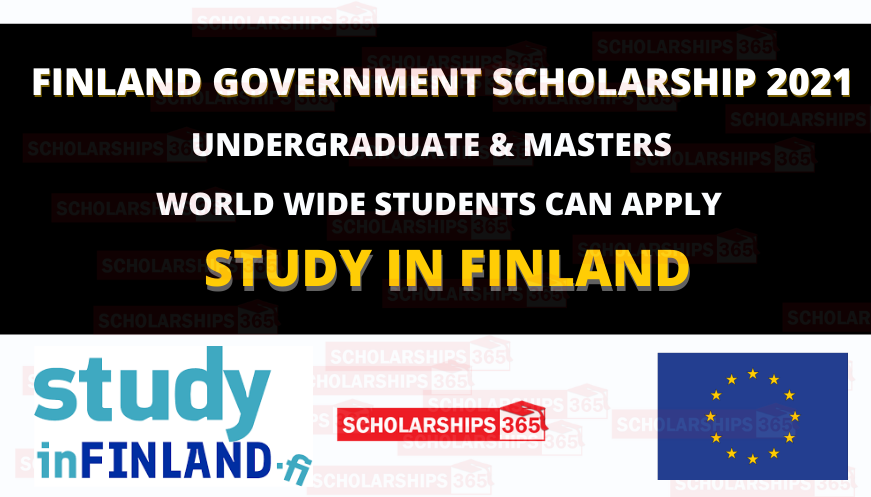 Finland Government Scholarship 2021 for International Students - Funded