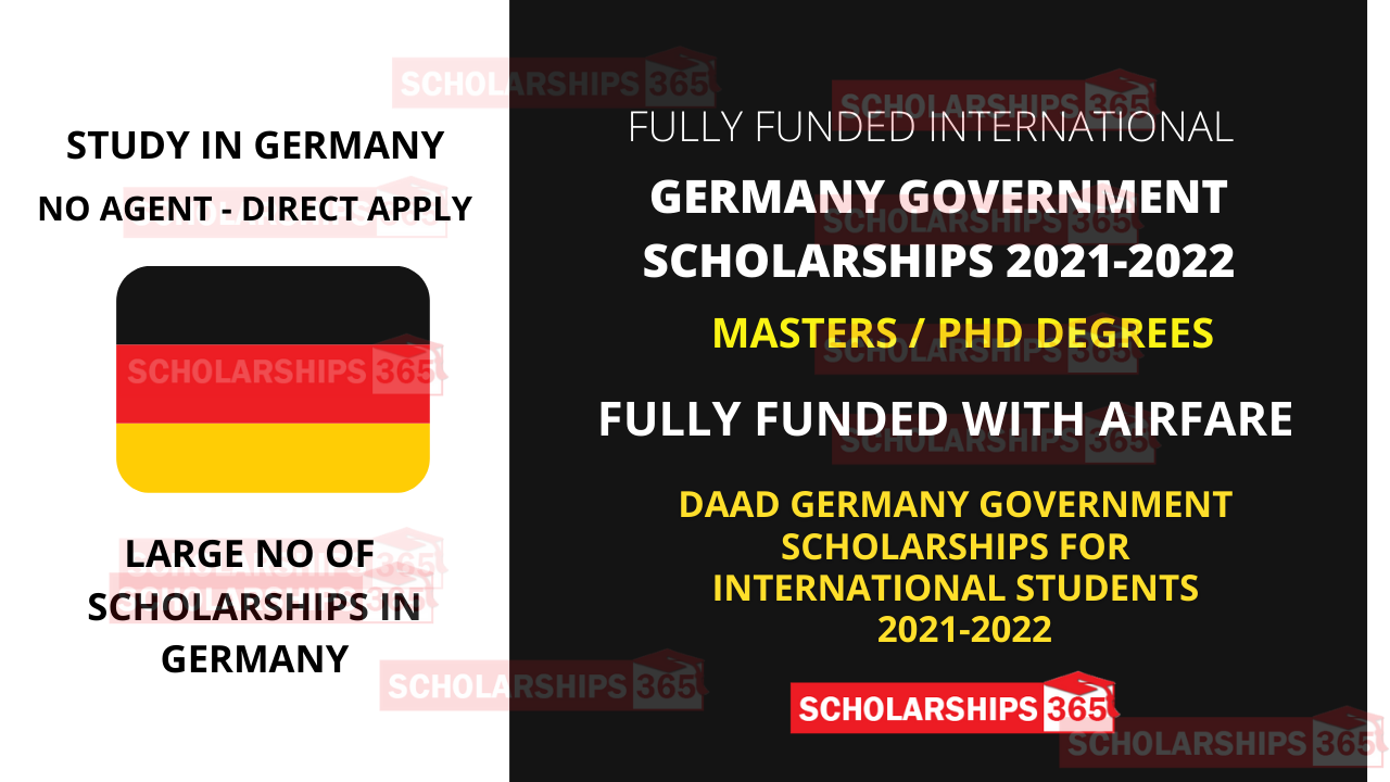 DAAD Scholarship 2021-2022 in Germany Fully Funded - Study in Germany