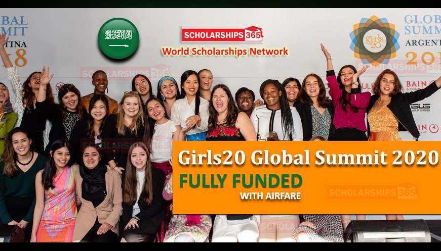 Girls20 Global Summit 2020 in Riyadh, Saudi Arabia - Fully Funded