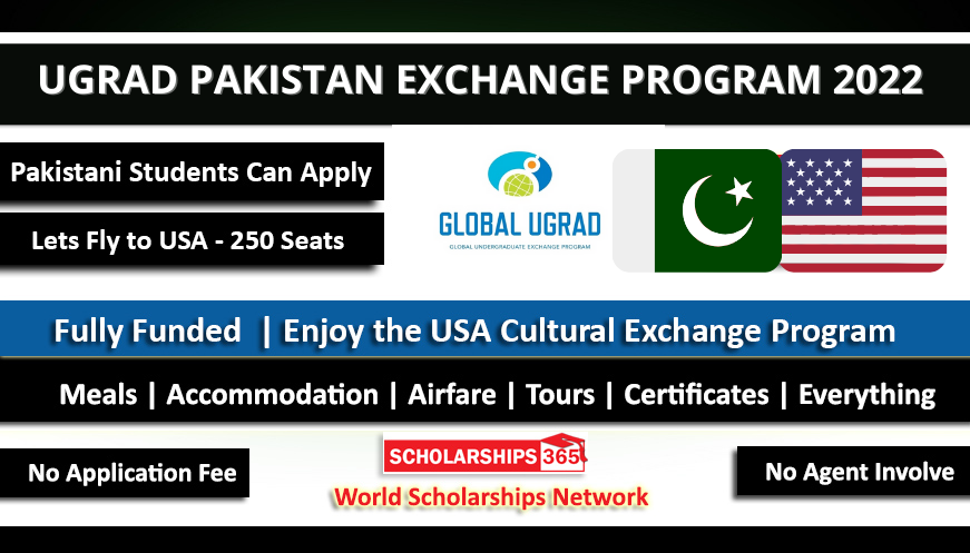 Global UGRAD 2022 Pakistan Exchange Program to USA - Fully Funded