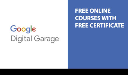 Google Digital Free Marketing Course with Certificates