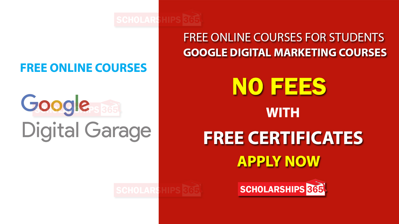 Google Digital Garage - Free Digital Marketing Course with Free Certificates