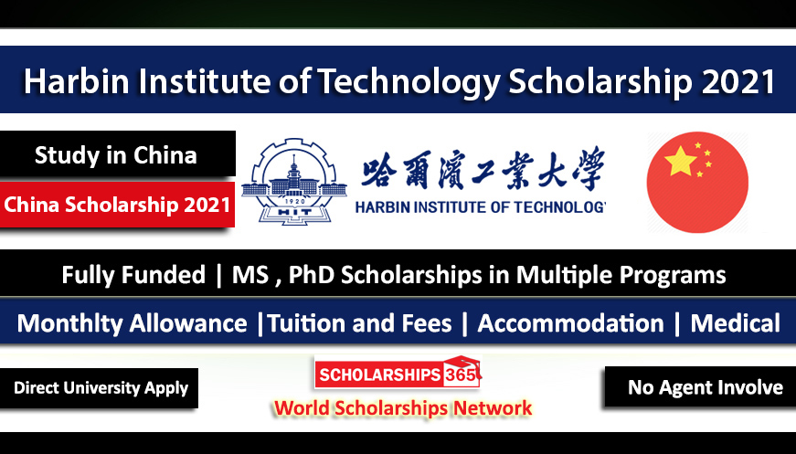 Harbin Institute of Technology Scholarship 2021 | CSC Scholarship | Chinese Government Scholarship