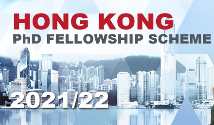 Hong Kong PhD Fellowship Scheme Program 2021 - Fully Funded