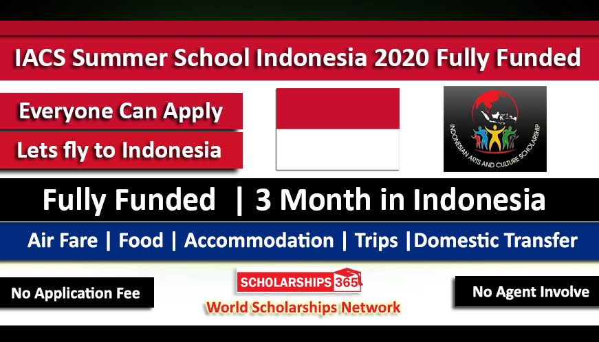 IACS Summer Camp Indonesia 2020 Youth Summer Camp - Fully Funded - Summer Schools 2020