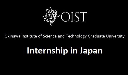OIST Japan Internship 2020 Japan - Fully Funded Internship