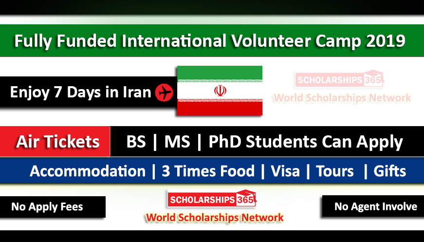 International Volunteer Camp 2019 in University of Tehran, Iran - Fully Funded