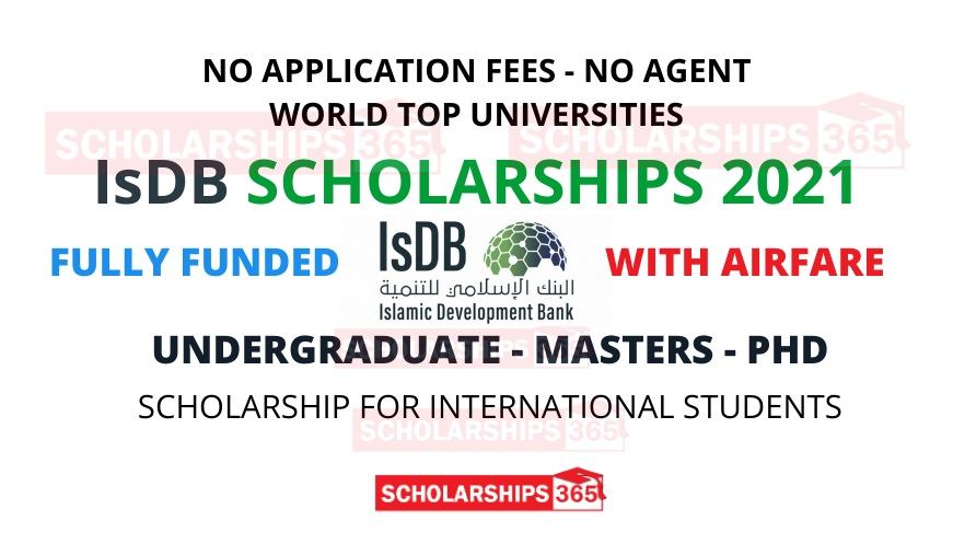 Isdb Scholarship 2021 Islamic Development Bank Scholarship 2021 Fully Funded